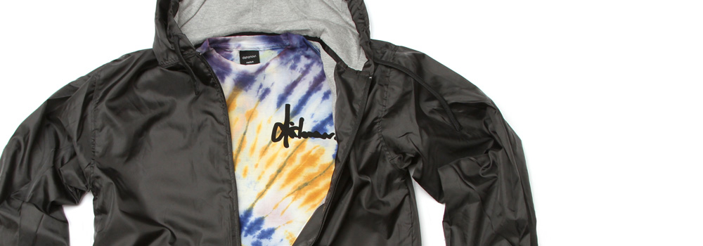 Up in Smoke Windbreakers & Tie Dye Tees