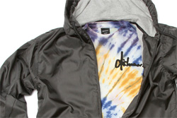 Dishonour Brand UP IN SMOKE windbreakers & tie dye tees