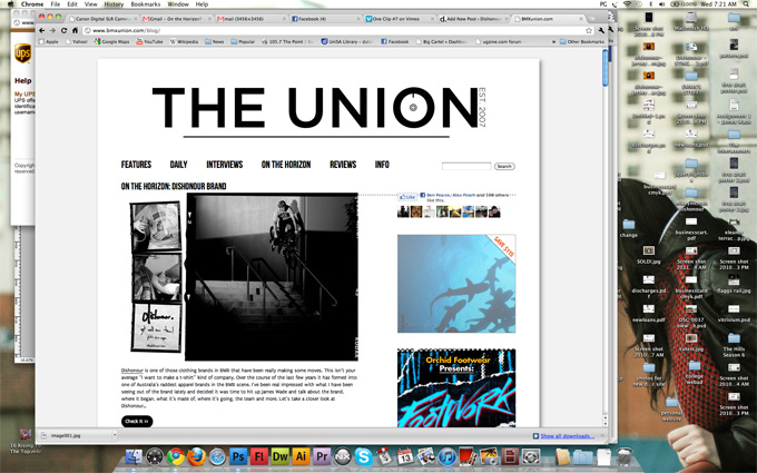 Dishonour Interview on BMX Union