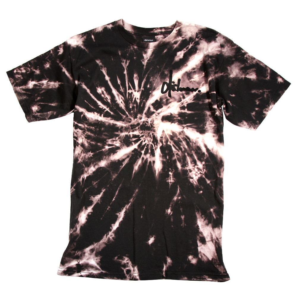 Dishonour - Autumn 2012 Acid Dye Tees - Tie Dye, Acid Dye, Swirls, Psychadelic