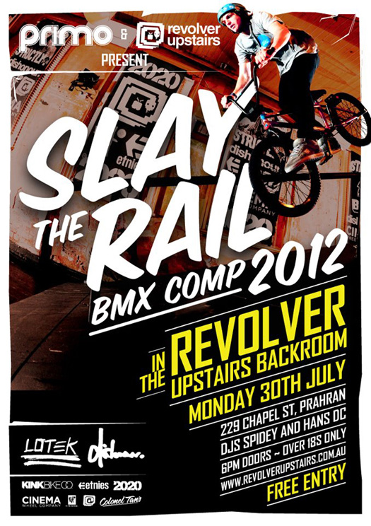 Slay the Rail 2012 - Dishonour Brand