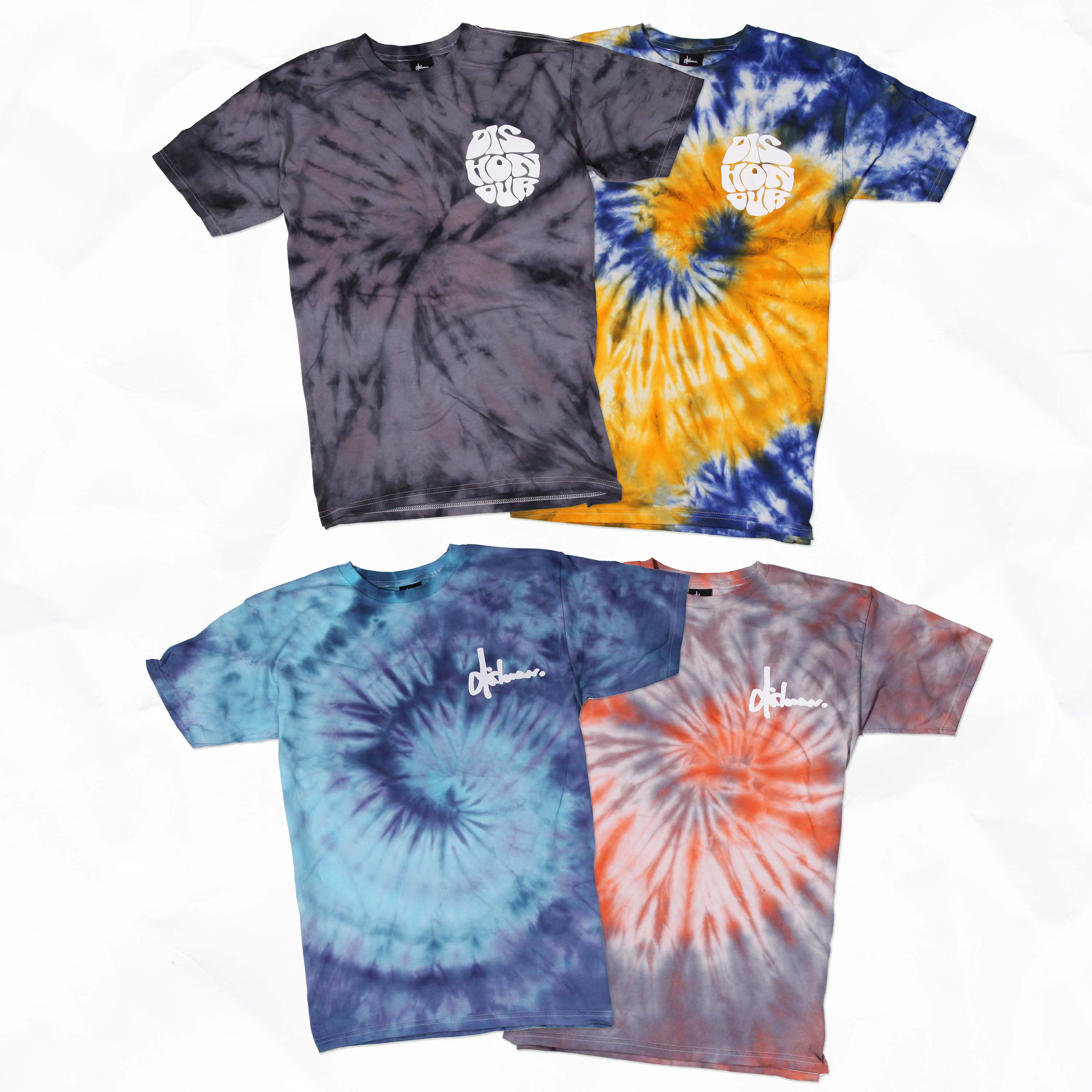 Dishonour Brand - New Dishonour Cali & Nomad Tie Dye Tees OUT NOW