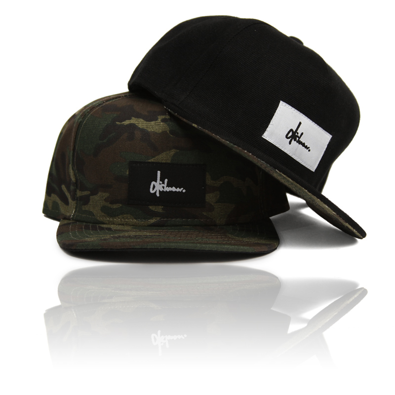 Dishonour Valley Snapback Five Panel Camo Structured Ride More
